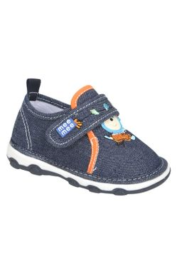 Mee Mee First Walk Baby Shoes with Chu Chu Sound (Navy)