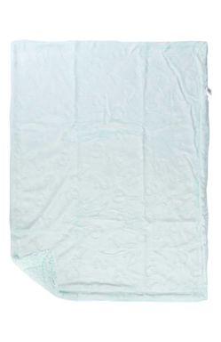 Mee Mee Double Layered Soft Baby Blanket with Embossed Printing, Green