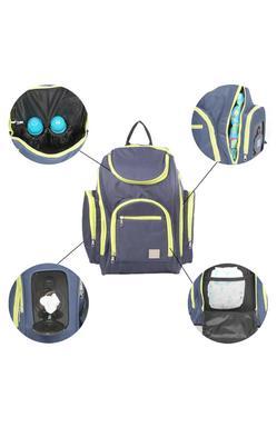 Mee Mee Multipurpose Diaper Bag (Navy Blue)