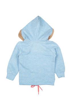 Mee Mee Full Sleeve Girls Jacket (Light Blue)