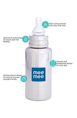Mee Mee Premium Steel Feeding Bottle (240ml)