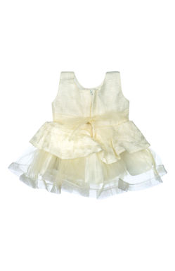 Mee Mee Baby Frilly Party Frock – Cream