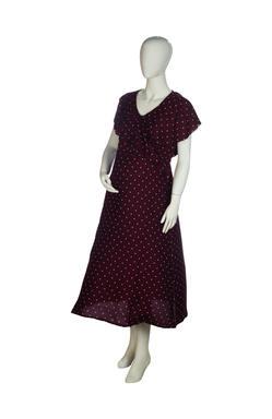 Mee Mee Maternity Dress (Wine , XXL)