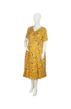 Mee Mee Maternity Dress (Yellow , XXL)