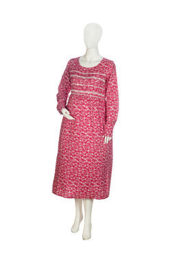 Mee Mee Maternity Dress (Pink , XXL)