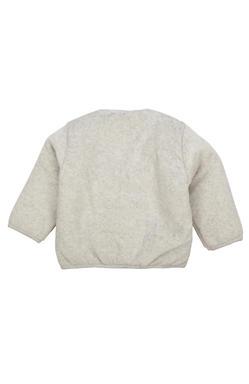 Mee Mee  Full Sleeve Unisex Shearing Jabla (Grey_Melange)