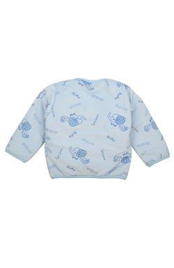 Mee Mee Full Sleeve Unisex Shearing Printed Jabla (Blue)