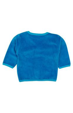Mee Mee Full Sleeve Unisex Solid Shearing Jabla (Blue)