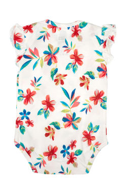 Mee Mee Short Sleeve Girls Bodysuit