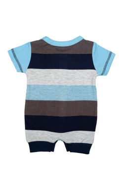 Mee Mee Kids Striped Half Romper