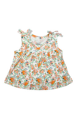 Mee Mee Kids Mint Floral Shorts Set
