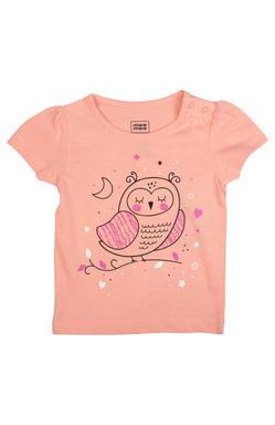 Mee Mee Kids Short Sleeve Owl With Floral Printed Night Suit