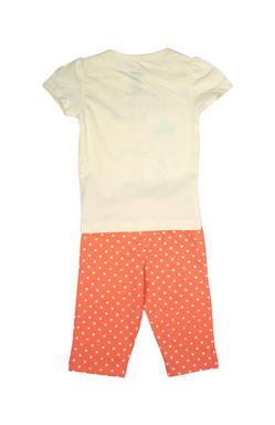 Mee Mee Kids Short Sleeve Polka Printed Dream Night Suit