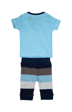 Mee Mee Kids Striper I Need Sea Legging Set