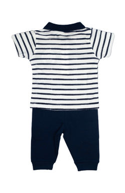 Mee Mee Kids Striper Teddy And Boat Legging Set