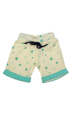 Mee Mee Baby Sea Green, White & Offwhite Shorts - Pack Of 3