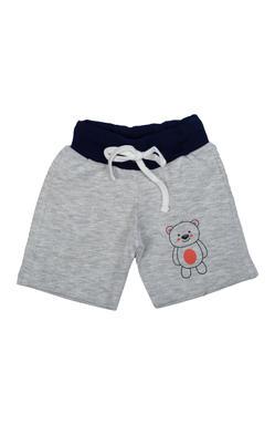 Mee Mee Baby Beige, Mustard & Grey Shorts - Pack Of 3
