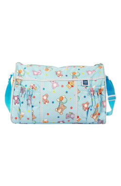 Mee Mee Multifunctional Diaper Bag with Pockets (Light Blue)