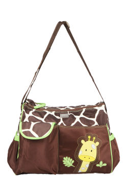 Mee Mee Multipurpose Diaper Bag (Brown)