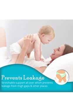 Mee Mee Premium Breathable Baby Diapers (Newborn - 12 Count)