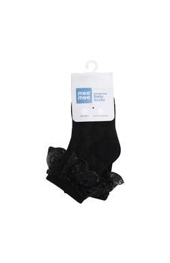Mee Mee Stylish Cozy Baby Socks (Black)