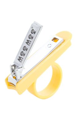 Mee Mee Baby Nail Cutter with Easy Grip (Yellow)