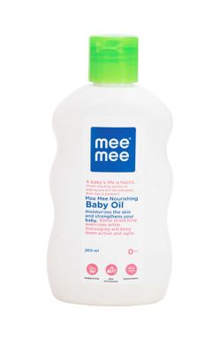 Mee Mee Baby Oil with Fruit Extracts- 200 ml