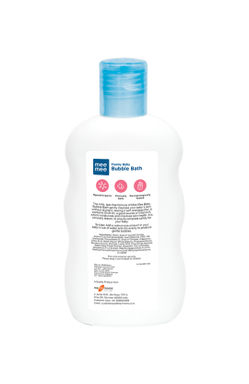 Mee Mee Gentle Baby Bubble Bath with Cherry Extracts- 200 ml (Pack of 2)