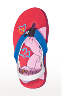 Mee Mee Unisex Flip-Flops and House Slippers (Red Pink)