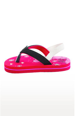Mee Mee Unisex Flip-Flops and House Slippers_x000D_ (Red Black)