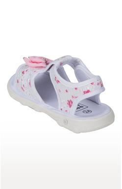 Mee Mee First Walk Baby Sandel with Chu Chu Sound (White)