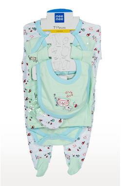Mee Mee Unisex Gift Set Pack Of 7