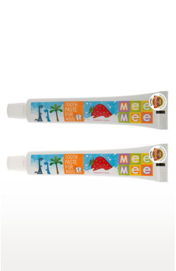 Multicoloured Fluoride Free Flavour Toothpaste