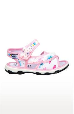Mee Mee First Walk Baby Sandel with Chu Chu Sound (Light Pink)