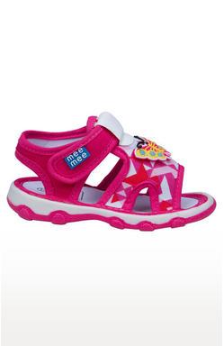 Mee Mee First Walk Baby Sandel with Chu Chu Sound (Pink)