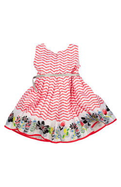 Mee Mee Girls Party Frock (Red)