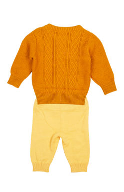 Mee Mee Full Sleeve Boys Legging Set (Yellow)
