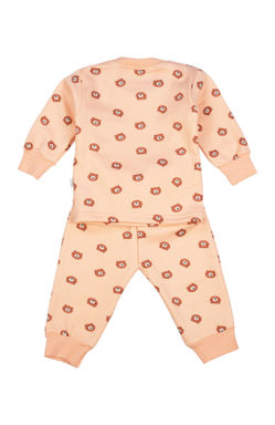 Mee Mee Full Sleeve Unisex Night Suit (Peach)