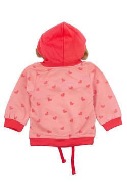 Mee Mee Full Sleeve Girls Jacket (Coral Pink)