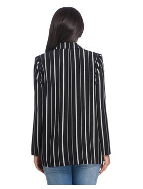 Casual Stripe Blazer