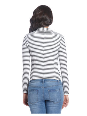 Striped Casual Blazer