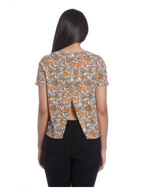Quirky Print Top