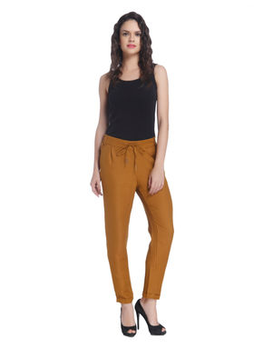Brown Linen Pants