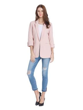 Pink Long Blazer