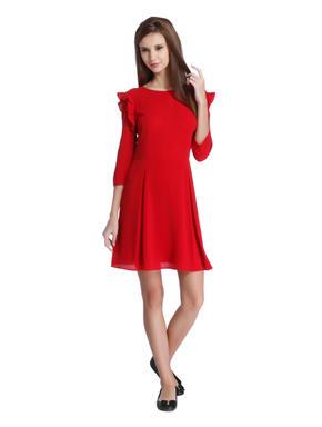 Scarlet Fit & Flare Mini Dress