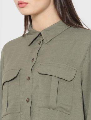 Green Two Pocket Shirt