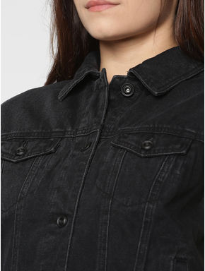 Black Denim Jacket