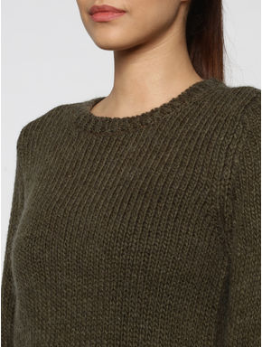 Brown Glittered Pullover
