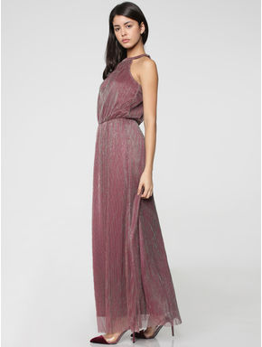 Rose Shimmer & Sheen Maxi Dress