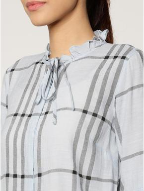 Grey Checks Shirt